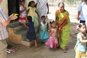 A child care center in Tamil Nadu