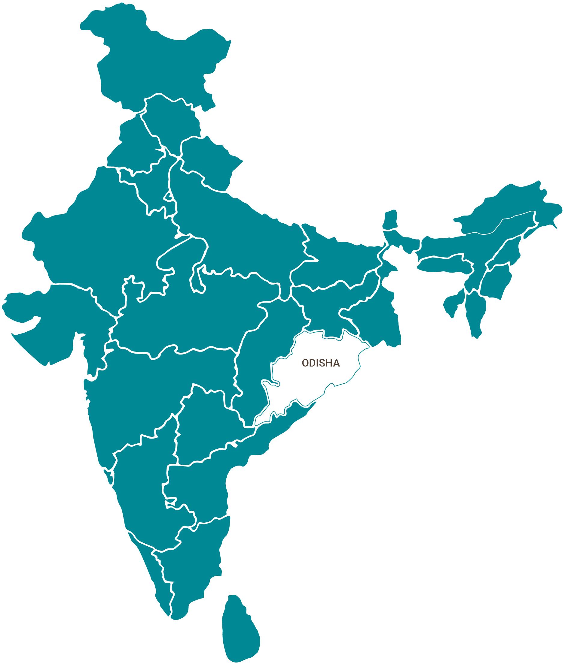 OdishMapIndia